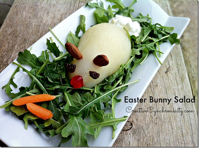 Bunny Salad for Easter