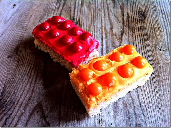 Lego Rice Krispie Squares
