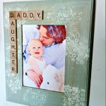 DIY Gift for Dad: Father Daughter Photo Frame