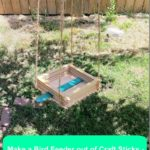 Make a Craft Stick Bird Feeder with Your Kids {Scout Crafts}