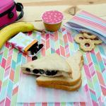 Sweet Berries and Cream Cheese Sandwiches