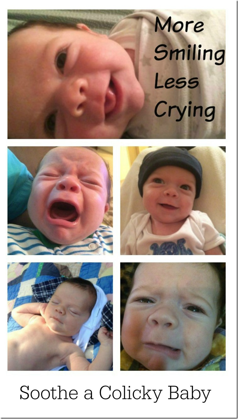 More Smiling Less Crying - Soothe a Colicky Baby