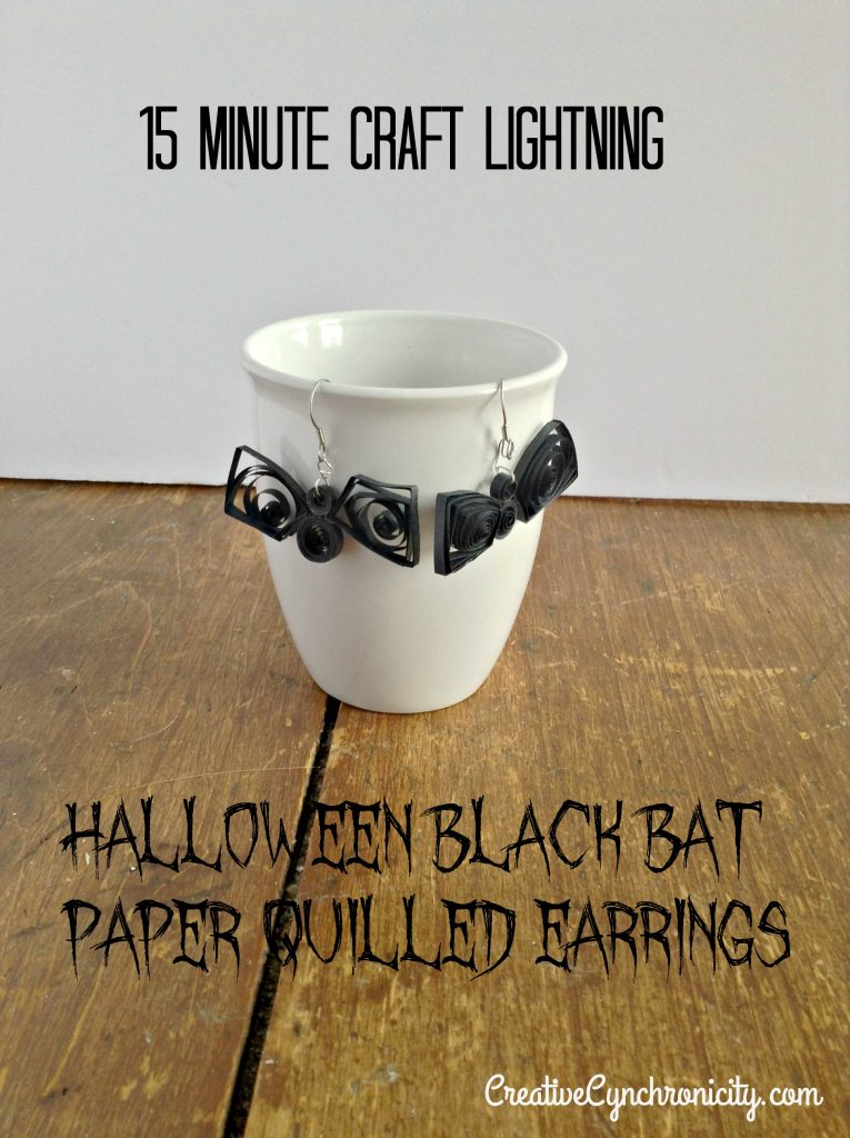 how-to-make-paper-quilled-halloween-bat-earrings