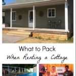 What to Pack When Renting a Cottage