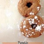 Pumpkin Butterscotch Doughnuts