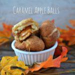 Easy Caramel Apple Balls Recipe