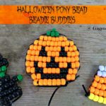 Halloween Pony Bead Beadie Buddies