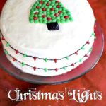 Christmas Lights Cake
