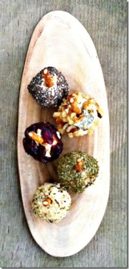 mini cheese ball variations