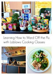 Learning How to Ward Off the Flu with Loblaws Cooking Classes