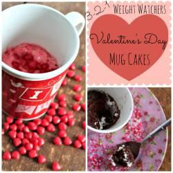 3-2-1 Weight Watcher's Mug Cakes