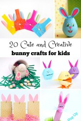 20 Cute and Creative Bunny Crafts for Kids