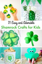 21 easy and adorable shamrock crafts for kids