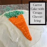 Carrot Cake with Cream Cheese Icing Recipe