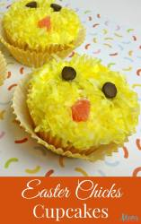 Easter Chick Cupcake Recipe