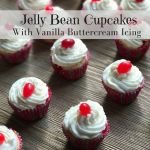 Jelly Bean Cupcakes Recipe