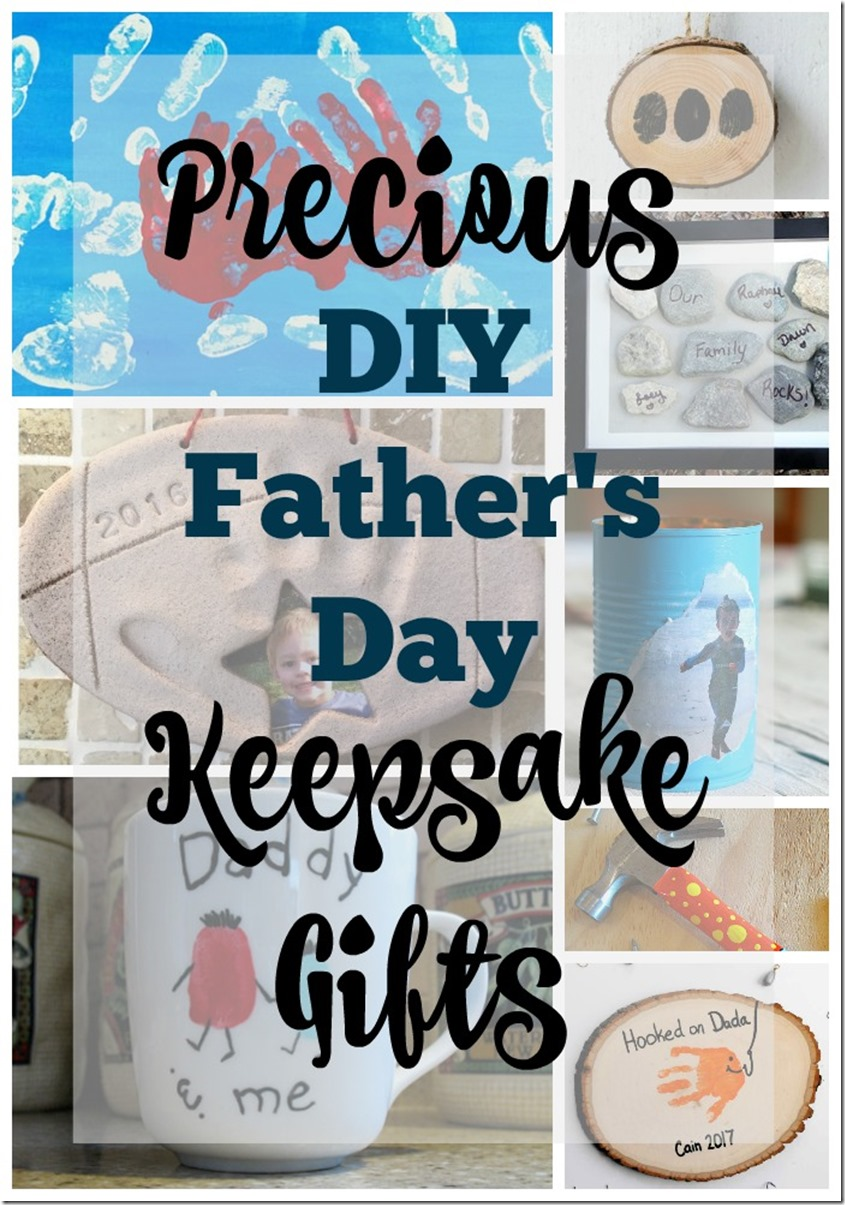 Precious DIY Father%27s Day Keepdake Gifts
