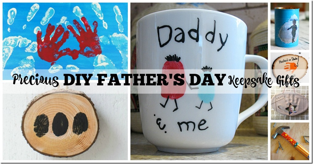 Precious DIY Father%27s Day Keepsake Gifts