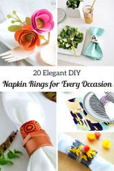 Napkin Rings for Every Occasion