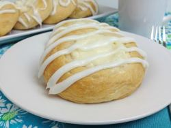 Crescent Roll Cream Cheese Danish Recipe
