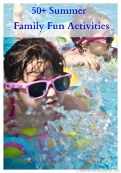 50+ Summer Family Fun Activities at the Cottage