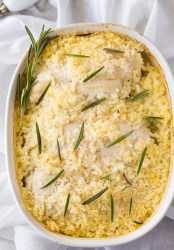 Mom's Chicken and Rice Casserole Recipe