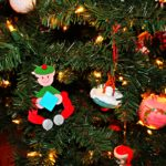 Simple DIY Elf Ornament