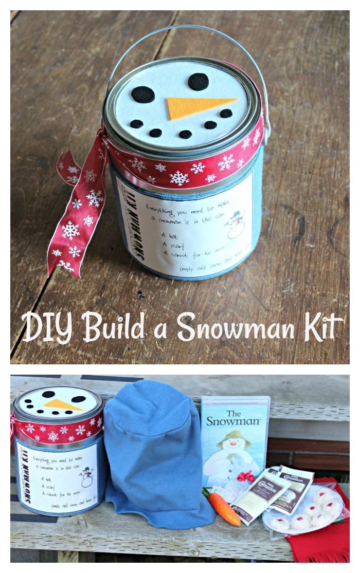 DIY Do You Want to Build a Snowman Kit