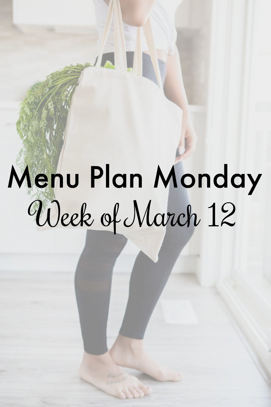 menu plan monday march 12