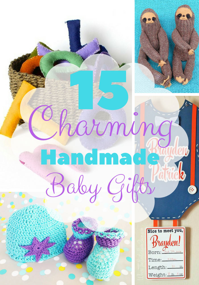 15 Charming Handmade Baby Gifts