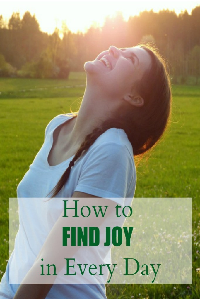 how to find joy in every day