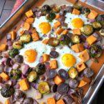 Sheet Pan Sweet Potato Breakfast Hash Recipe