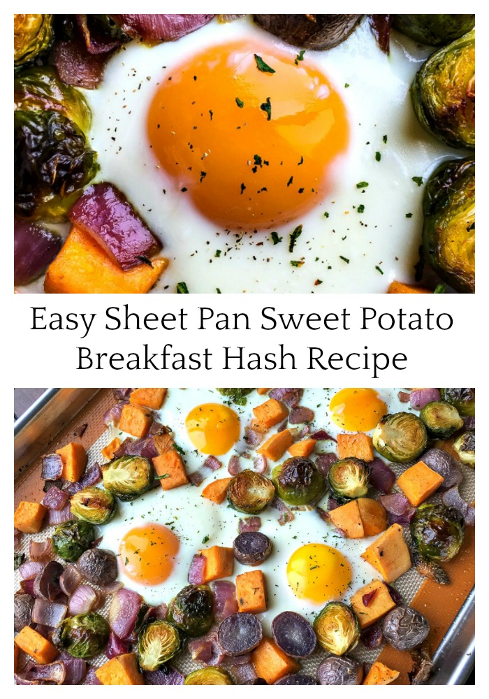 Easy Sheet Pan Sweet Potato Breakfast Hash Recipe