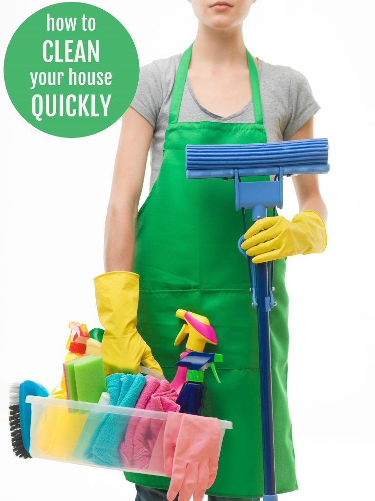 How to Clean Your House Quickly