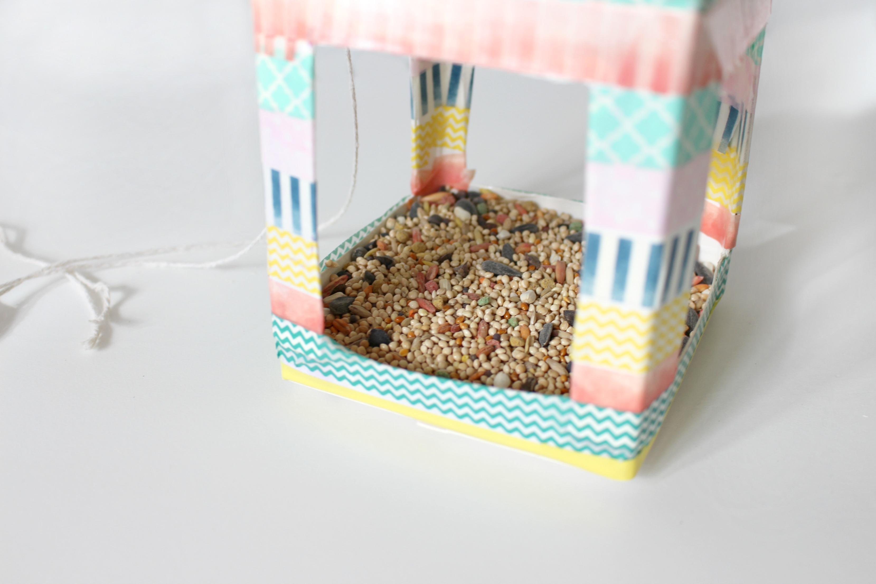 Step 11 washi birdhouse
