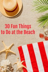 30 Fun Things to Do at the Beach
