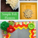 Quick and Easy Felt Flower Jewelry