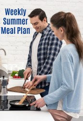 Weekly Summer Meal Plan July 2