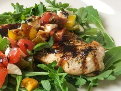 Caprese Chicken Breasts with Balsamic Glaze Recipe