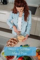 Menu Plan Monday: Weekly Summer Meal Plan August 6