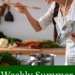 Weekly Summer Meal Plan August 27