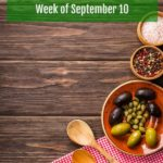 Weekly Menu Plan September 10