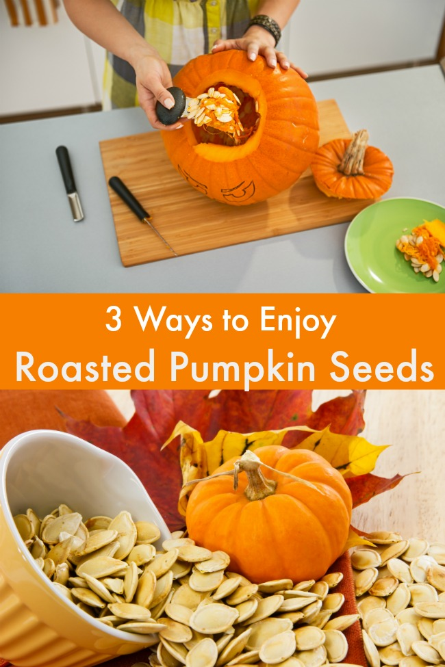 3 ways to enjoy roasted pumpkin seeds