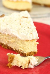 Pumpkin Eggnog Cheesecake Recipe