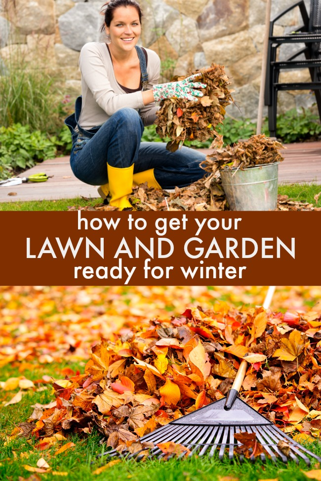 get your lawn and garden cleaned up in fall