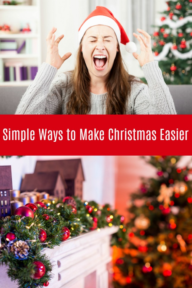simple ways to make christmas easier
