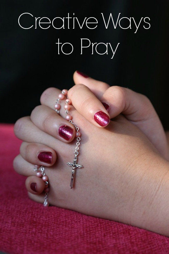 creative ways to pray