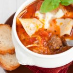 One Pot Hearty Lasagne Soup Recipe