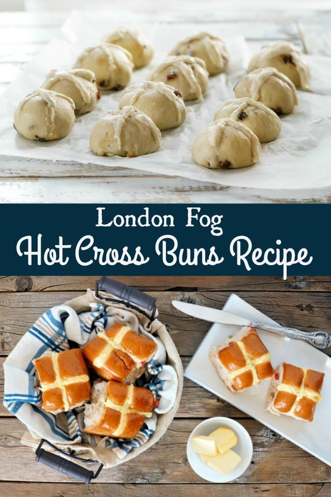 London Fog Hot Cross Buns Recipe