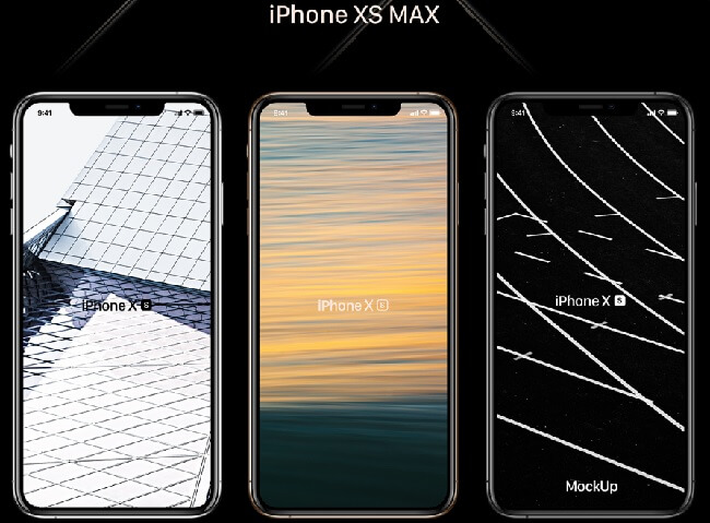 Free iPhone XS, XR, XS Max Mockups by Firos